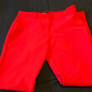 Women's Express Red Skinny Pants Size 6R
